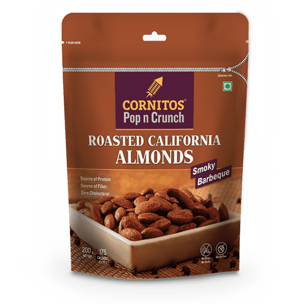 cornitos-lightly-salted-california-almonds-smoky-barbeque-200-gm