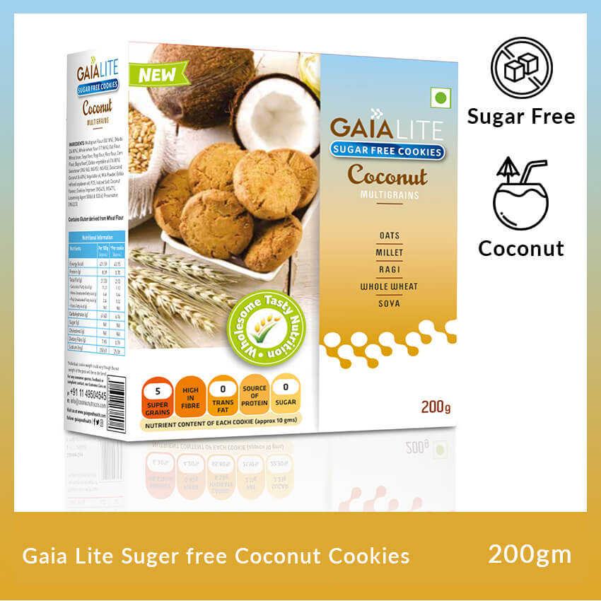 gaia-lite-suger-free-coconut-cookies-200-gm